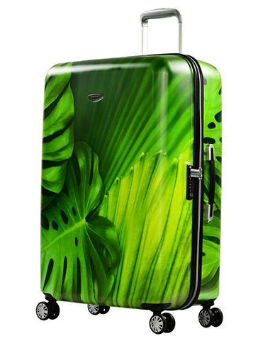 Eminent Leaf Printed 30-Inch Trolley Bag-GREEN-28
