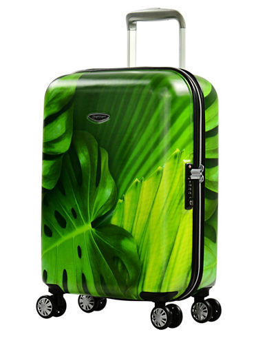 Eminent Leaf 360-Degree Four-Wheel 22-Inch Trolley Bag-GREEN-20