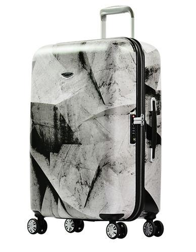Eminent Printed 26-Inch Trolley Bag-BLACK-24