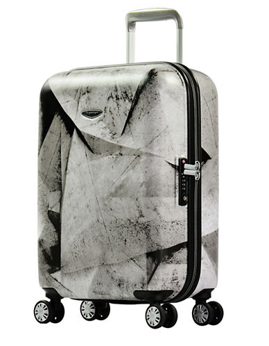 Eminent Printed 22-Inch Trolley Bag-BLACK-20