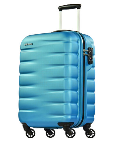 Eminent Voyager VII 22-Inch Packing Case Trolley Bag-BLUE-20
