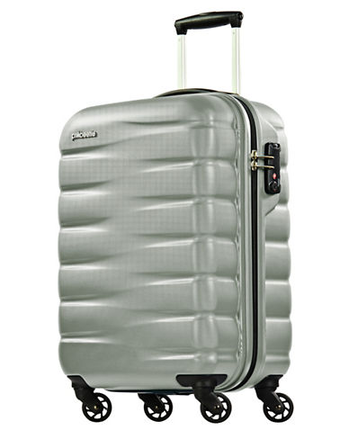 Eminent Voyager VII 22-Inch Packing Case Trolley Bag-SILVER-20