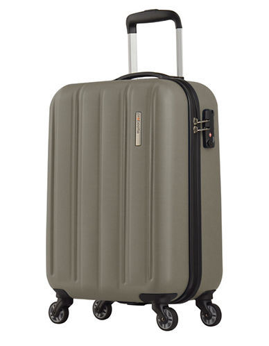 Eminent Voyager I 28-Inch Zipper Trolley-GREY-20