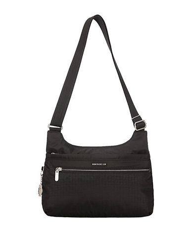 Beside-U Sevenoaks Travel Crossbody Bag-BLACK-One Size