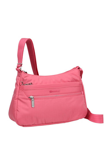 Beside-U Lilly Travel Crossbody Bag-PINK-One Size