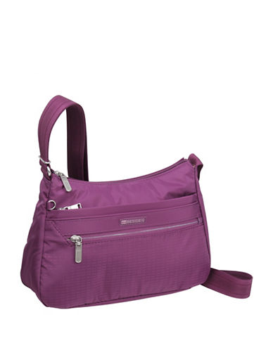 Beside-U Lilly Travel Crossbody Bag-PURPLE-One Size