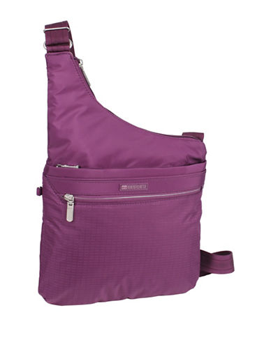 Beside-U Deasia Travel Crossbody Bag-PURPLE-One Size