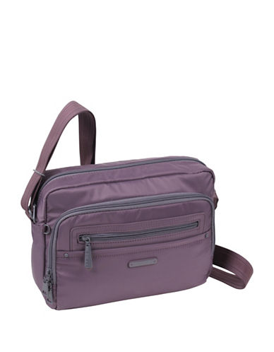Beside-U Nutopia Keith Ripstop Travel Crossbody Bag-PLUM-One Size