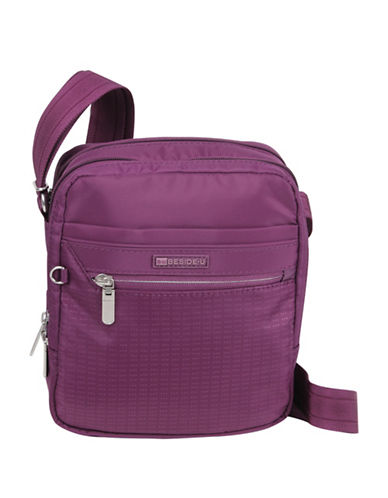 Beside-U Haleigh Travel Crossbody Bag-PURPLE-One Size