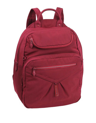 Beside-U Madison Travel Backpack-RED-One Size