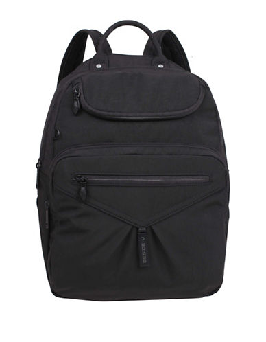 Beside-U Madison Travel Backpack-BLACK-One Size