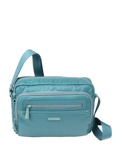 Beside-U Nutopia Keith Ripstop Travel Crossbody Bag-BLUE-One Size