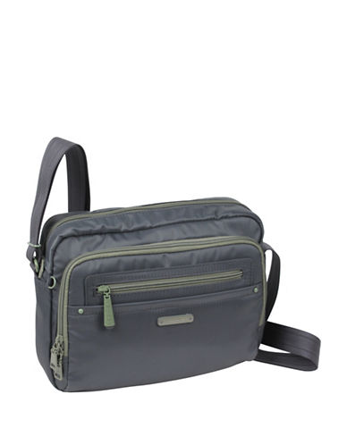 Beside-U Nutopia Keith Ripstop Travel Crossbody Bag-GREY-One Size