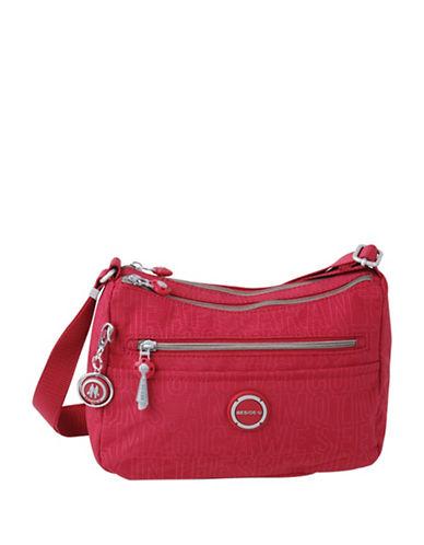 Beside-U Heslton Travel Crossbody Bag-RED-One Size