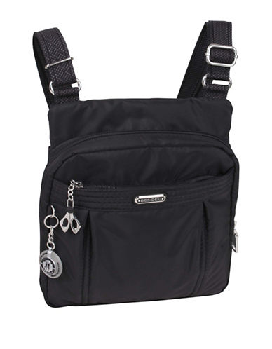 Beside-U Odile RFID-Protected Crossbody Bag-BLACK-One Size