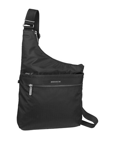 Beside-U Creed Deasia RFID-Protected Crossbody Bag-BLACK-One Size