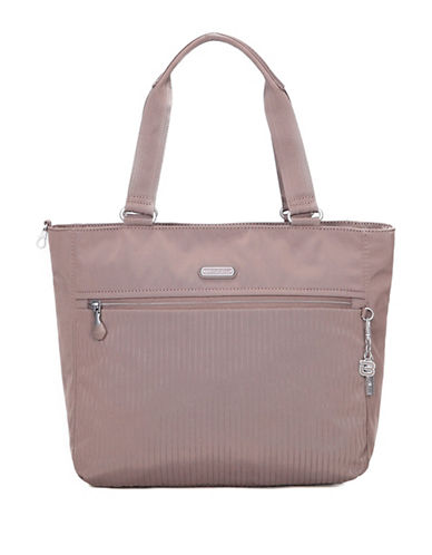 Beside-U Taylor RFID Protected Travel Tote Bag-GREY-One Size