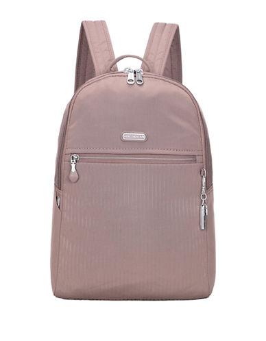 Beside-U Camilla RFID Travel Backpack-GREY-One Size