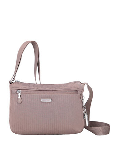 Beside-U Steph RFID Protected Travel Crossbody Bag-GREY-One Size