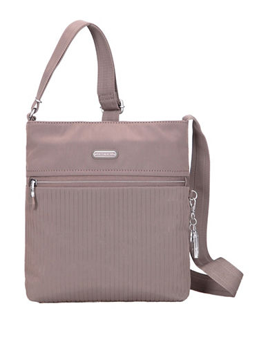 Beside-U Mika RFID Protected Travel Crossbody Bag-GREY-One Size