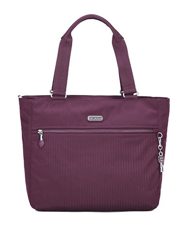 Beside-U Taylor RFID Protected Travel Tote Bag-PURPLE-One Size