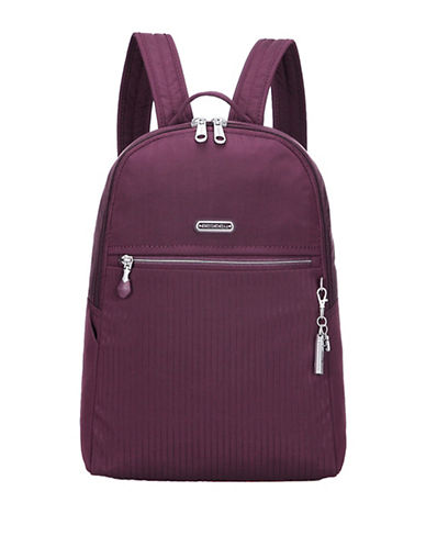 Beside-U Camilla RFID Travel Backpack-PURPLE-One Size