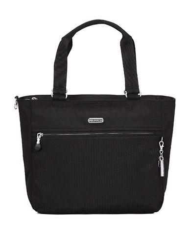 Beside-U Taylor RFID Protected Travel Tote Bag-BLACK-One Size