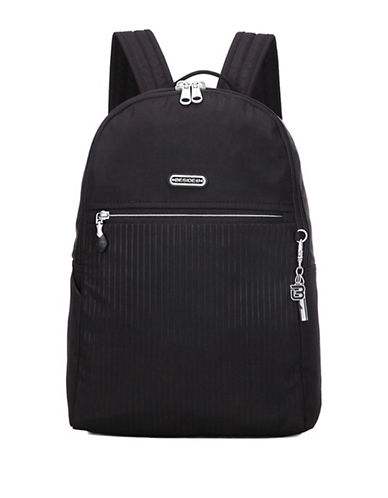 Beside-U Camilla RFID Travel Backpack-BLACK-One Size