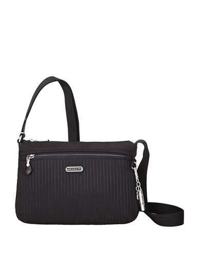 Beside-U Steph RFID Protected Travel Crossbody Bag-BLACK-One Size