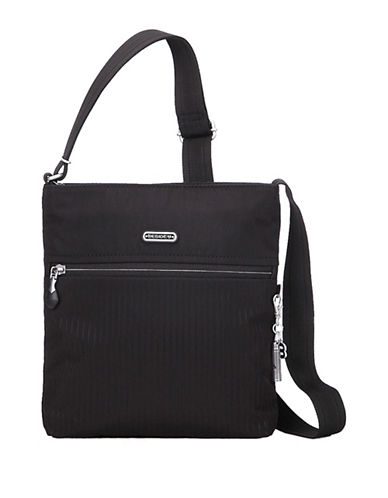 Beside-U Mika RFID Protected Travel Crossbody Bag-BLACK-One Size