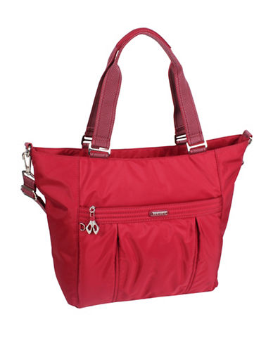 Beside-U Leanna Travel Tote-RED-One Size