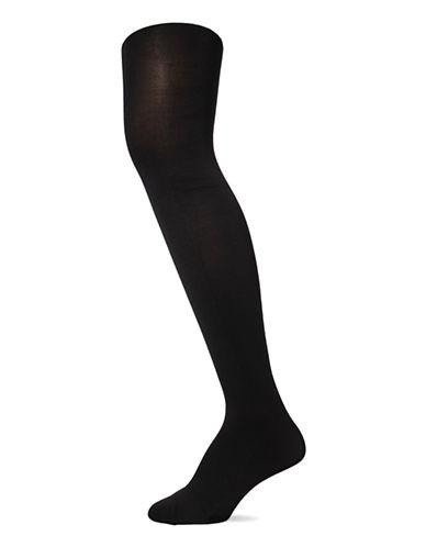 Polo Ralph Lauren Opaque Tights-BLACK-Medium