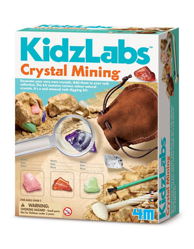 4m Crystal Mining Kit-ASSORTED-One Size