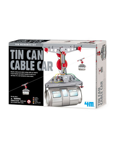 4m Tin Can Cable Car-ASSORTED-One Size