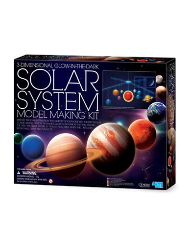 4m 3D Solar System Mobile Making Kit-ASSORTED-One Size