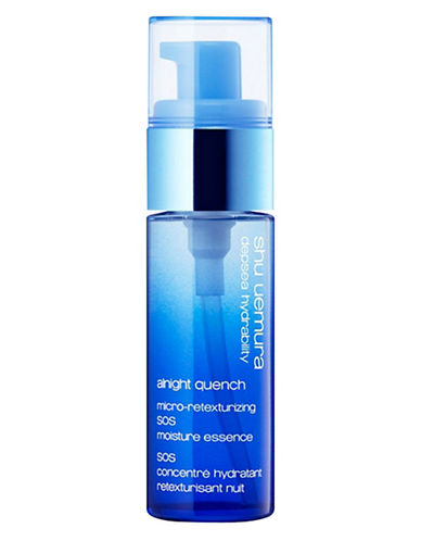 Shu Uemura Depsea Hydrability Alnight Quench SOS Moisture Essence-NO COLOUR-One Size