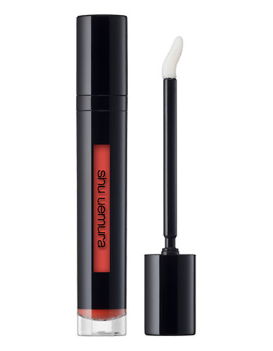 Shu Uemura Laque Supreme Intense Lip Gloss-SUNSHINE ORANGE 01-One Size