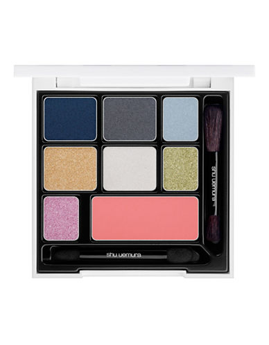 Shu Uemura Maison Kitsune Indigo Eye and Cheek Palette-PINK-One Size