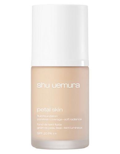 Shu Uemura Petal Skin Fluid Foundation-375 LIGHT AMBER+-One Size