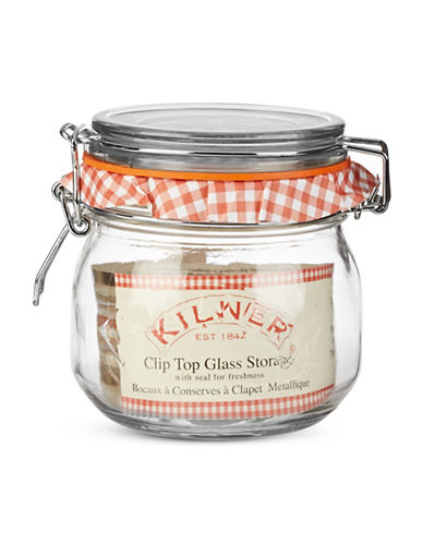 Kilner Clip Top Glass Storage Jar-NO COLOUR-One Size