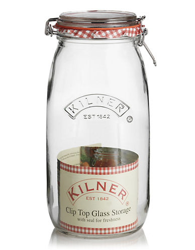 Kilner 3litre glass ClipTop Jar-NO COLOUR-One Size