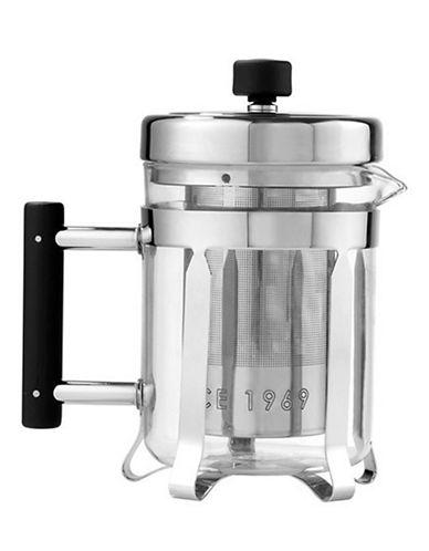 La Cafetiere Nouveau Classic Teapot and Press 660ml-SILVER-One Size 87146152_SILVER_One Size