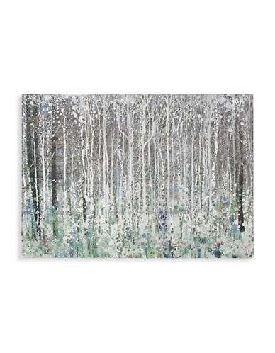 Graham And Brown 41-539 Watercolour Woods Canvas Art-GRY/SILVER-One Size