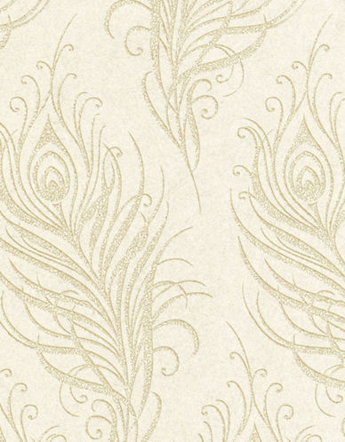 Graham And Brown 33-316 Quill Wallpaper-OYSTER-One Size