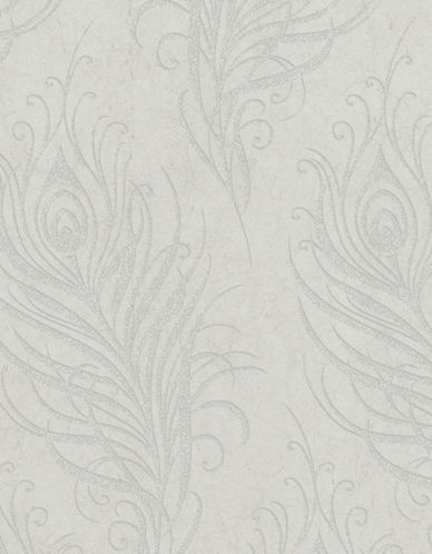 Graham And Brown 33-319 Quill Wallpaper-DOVE-One Size