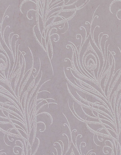 Graham And Brown 33-320 Quill Wallpaper-MULBERRY-One Size