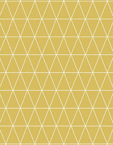 Graham And Brown Triangoli Wallpaper-YELLOW-One Size