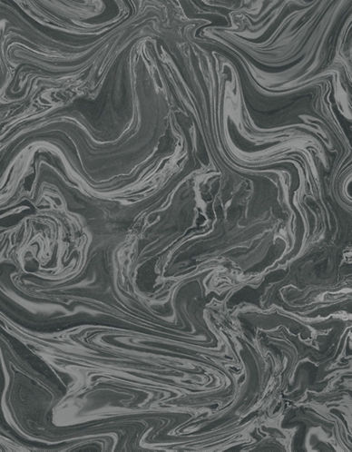 Graham And Brown 100518 Marbled Wallpaper-BLACK/GREY-One Size