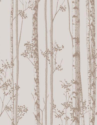 Graham And Brown 100523 Linden Wallpaper-ROSE/GOLD-One Size