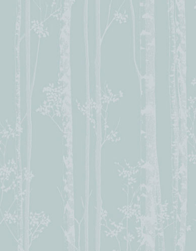 Graham And Brown 100524 Linden Wallpaper-BLUE/WHITE-One Size